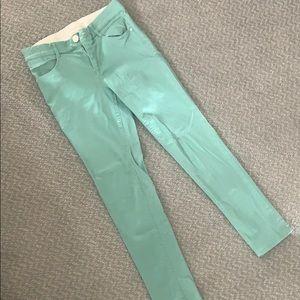 Jolt techno tuck mint jeans